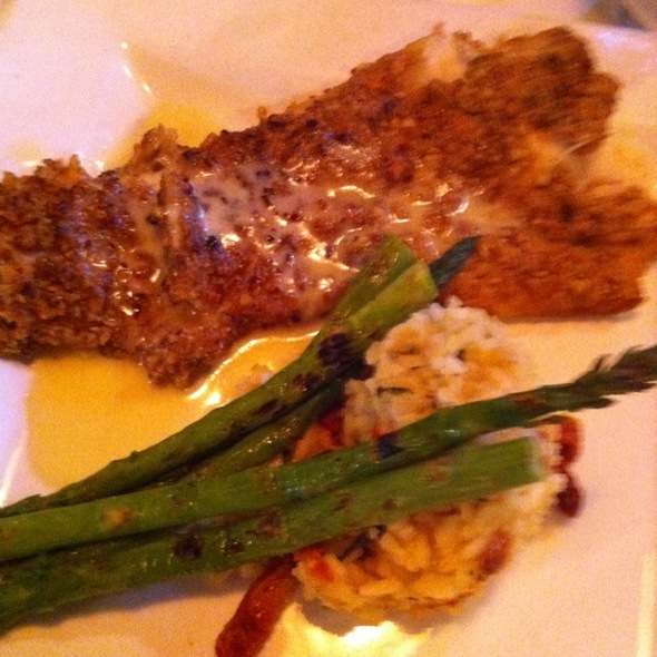 Pecan Crusted Walleye