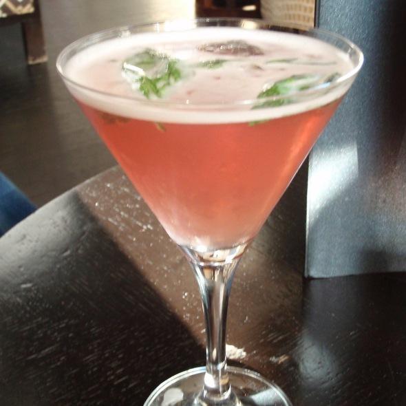 Basil Pomegranate Margarita - XIX Nineteen, Philadelphia, PA