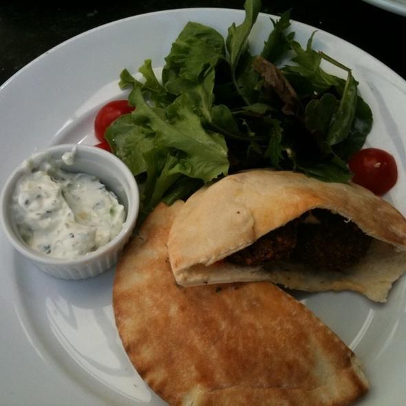 Falafel Sandwich - The Wild Fig, Aspen, CO