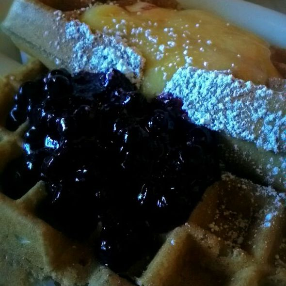 Blueberry & Lemon Waffles