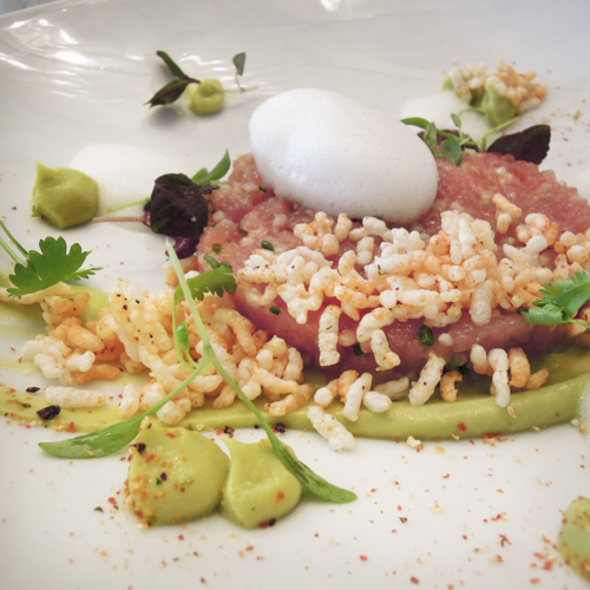 Tuna Tartare - Hawksworth Restaurant, Vancouver, BC