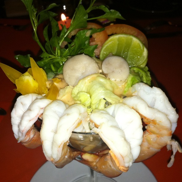 Shrimp Cocktail @ The Traveller @ Vartika