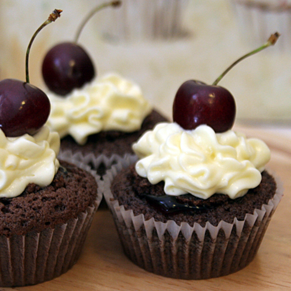 Cherry Cupcake @ Take A Cake