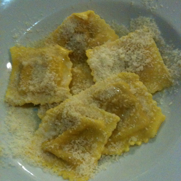 Tortelli Di Zucca  Pumpkin Ravioli @ Da Magene