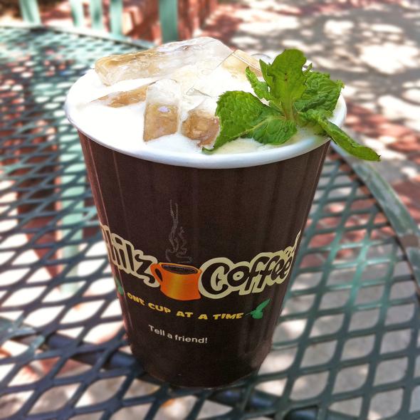 Mint Mojito Iced Coffee @ Philz Coffee