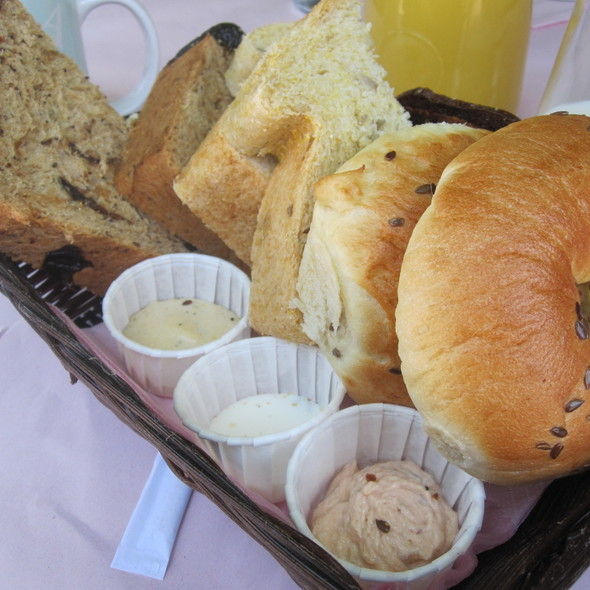 Brunch Bread Basket @ California Bakery
