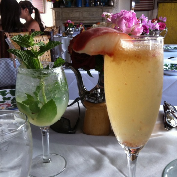 Bellini & Ivy Gimlet - The Ivy, West Hollywood, CA