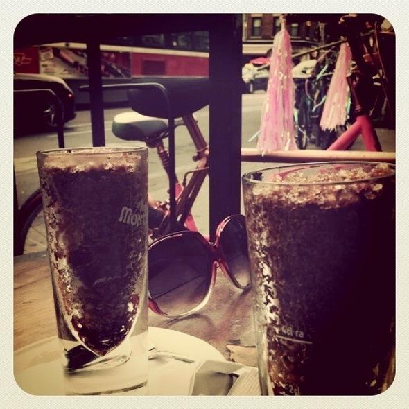 Iced Cappucino @ Bar Italia