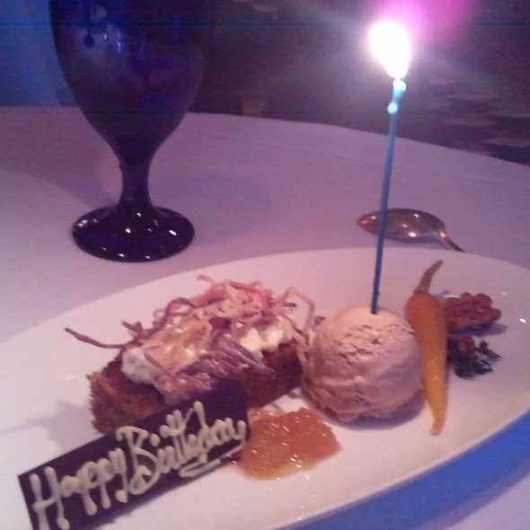 Sweet Carrot Cake @ Boulevard