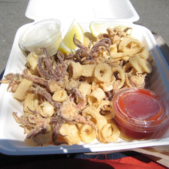 Fried Calamari @ Sam's Chowder Mobile