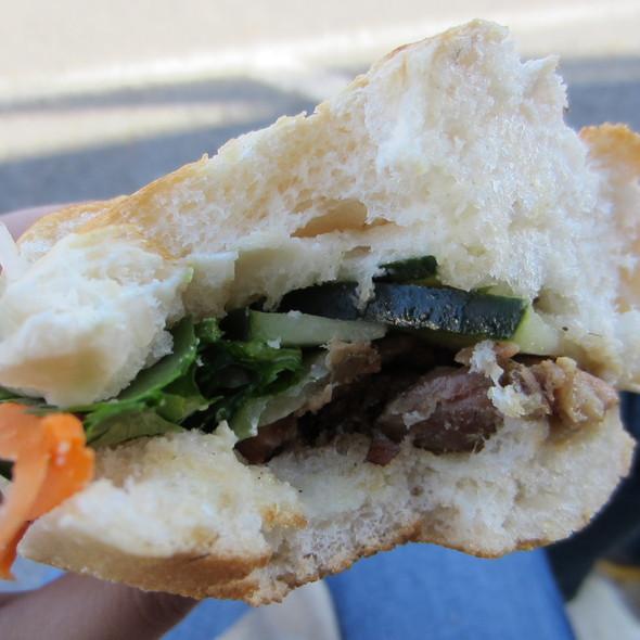 Lemongrass Grilled Pork Banh Mi @ LittleGreenCyclo