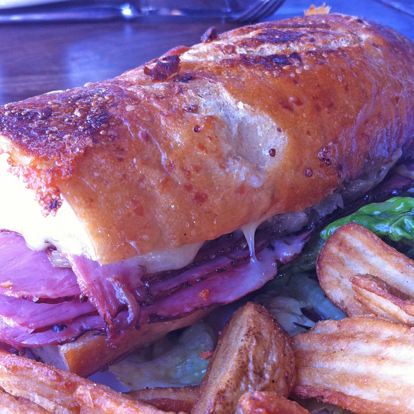 Smoked Meat Sandwich @ Cardero's Restaurant