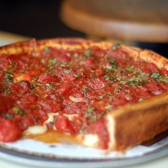 Deep Dish Pizza @ Zachary's Chicago Pizza