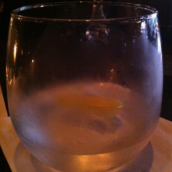 Dry Martini @ Restaurant Marc Forgione