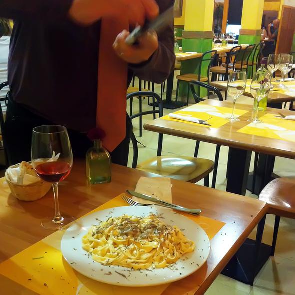 Tagliatelle Tartufo @ Il Pastaio