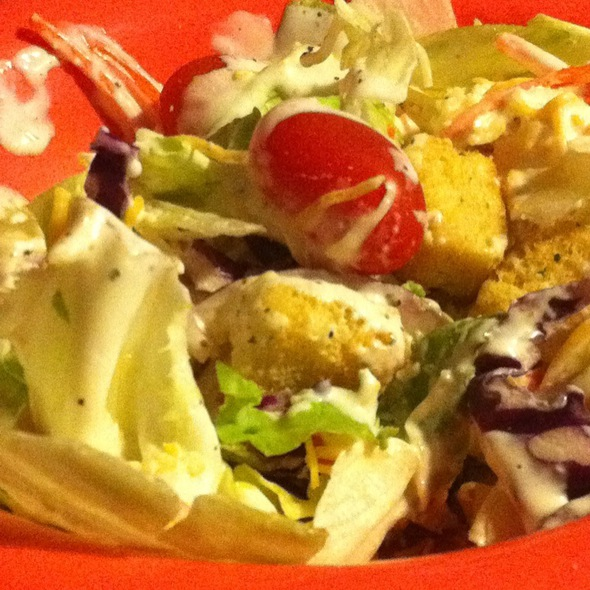 Tossed Salad With Ranch  @ Charlie Horse Restaurant