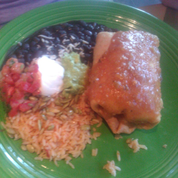 Chimichanga @ Cactus Restaurant