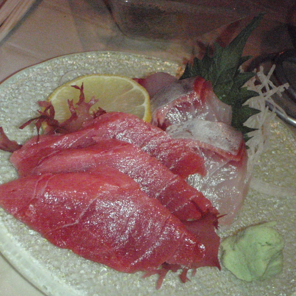 Tuna & Red Snapper Sashimi