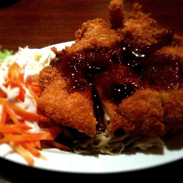 Mie + Chicken Katsu Saus Teriyaki