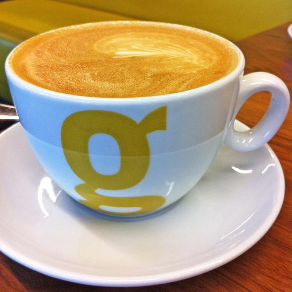 Cappuccino @ Giovane Cafe @ Fairmont Pacific Rim