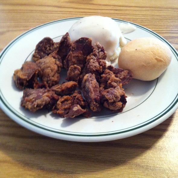 Chicken Liver Dinner @ Bev's Country Diner