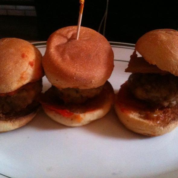 Meatball Sliders @ The Meatball Shop