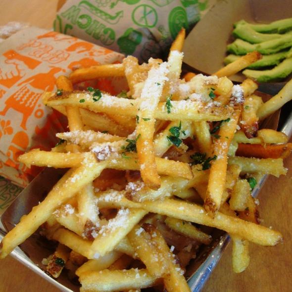 Garlic Fries @ Super Duper Burger