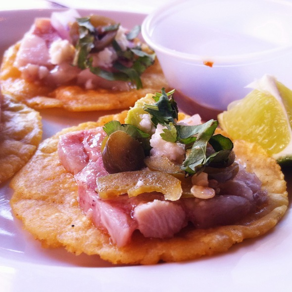 Mexican Construction Worker Style Headcheese Taco @ South Philadelphia Tap Room