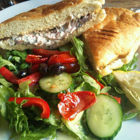 Salmon Sandwich @ Bang & Jensen