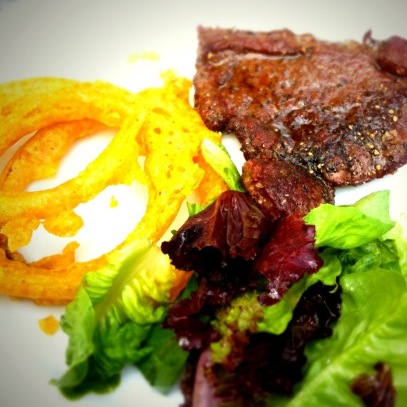 Sirloin Minute Steak @ St Kew Inn