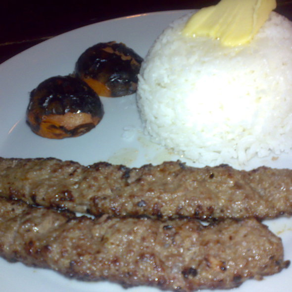 Special Beef Chelo Kabab