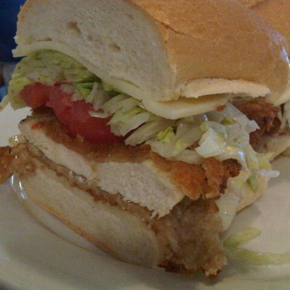 Chicken Cutlet Sandwich @ Lanskys