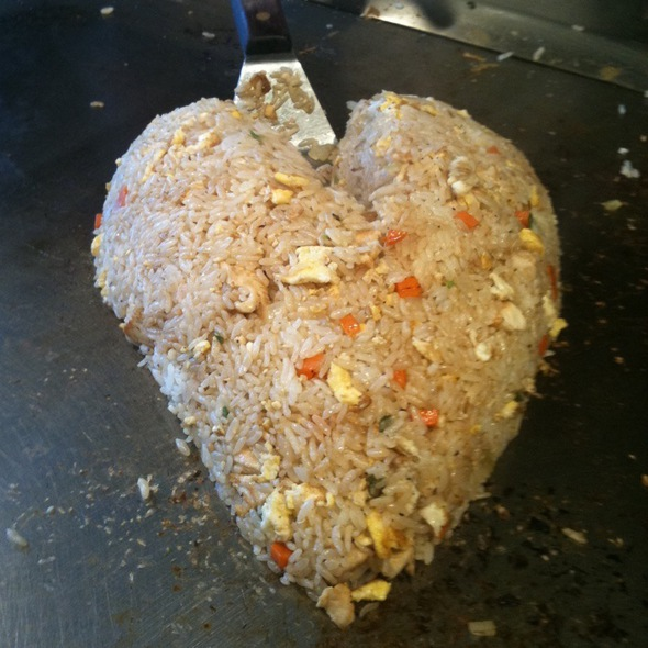 how to make japanese steakhouse fried rice