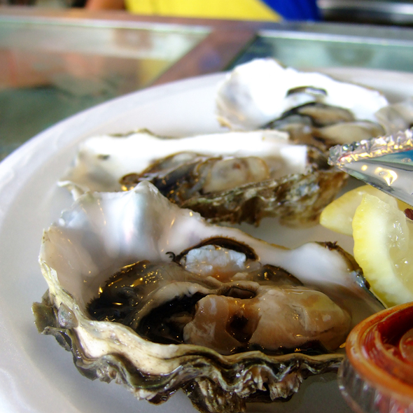 Oysters on the Half Shell @ Quality Seafood