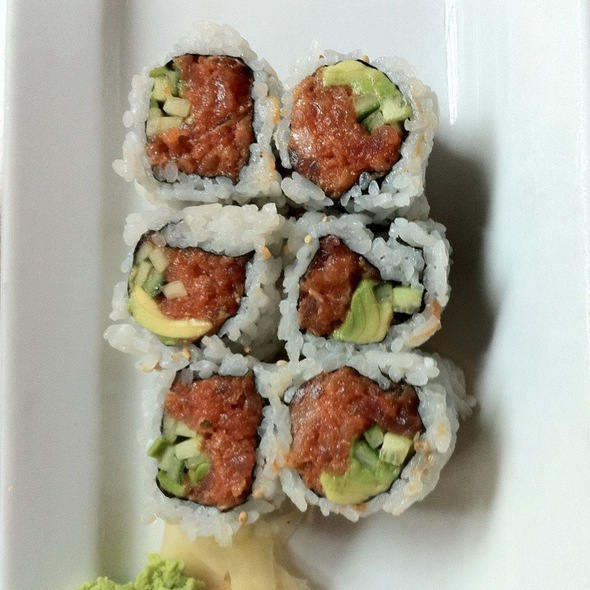 Spicy Tuna Roll @ Umi Sushi Restaurant & Sake Bar