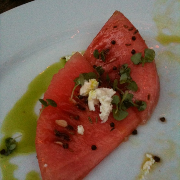Watermelon Salad With Cumin @ Foreign Cinema