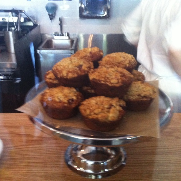 Strawberry Muffin @ Smith Canteen