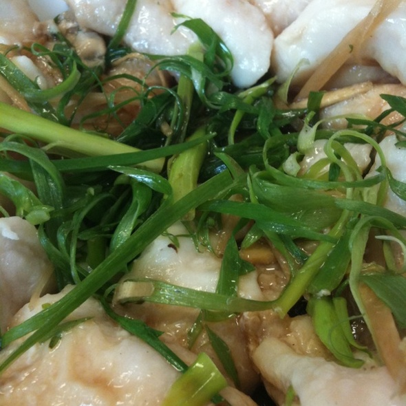 ... Restaurant - Steamed Fish Filet With Ginger Onion Sauce - Foodspotting