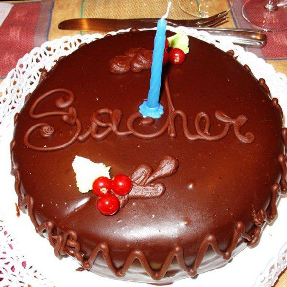 """Sacher Torte @ Cioccolateria """"Bacci"""""""