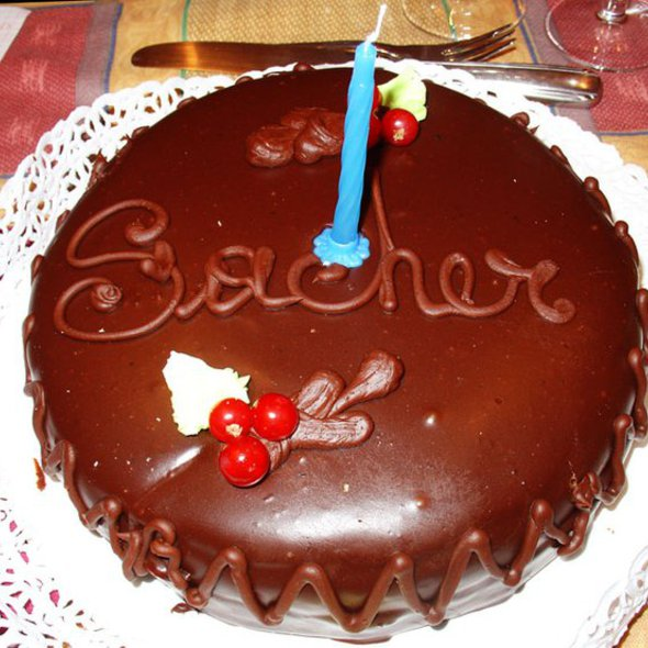 "Sacher Torte @ Cioccolateria ""Bacci"""