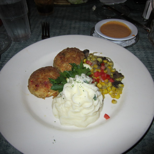 Crab Cakes - Old Oyster Factory, Hilton Head Island, SC