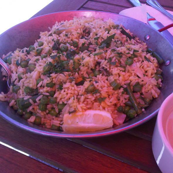 Vegetable Paella @ Williams & Brown Tapas
