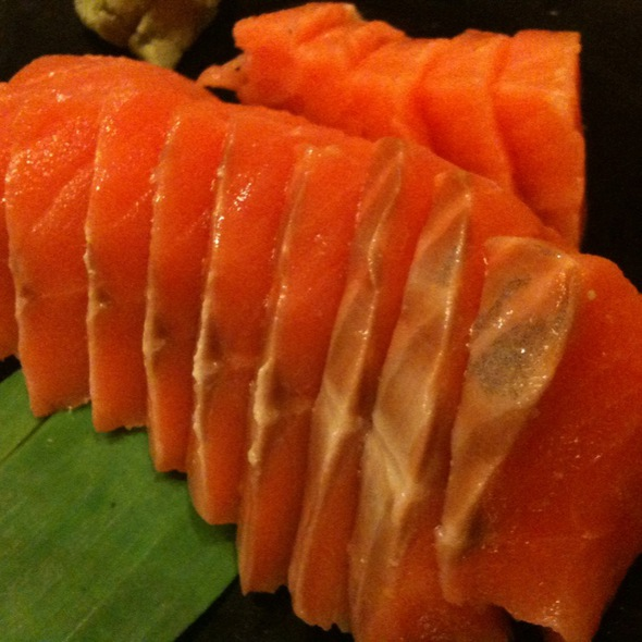 Salmon Sashimi @ Kuroda