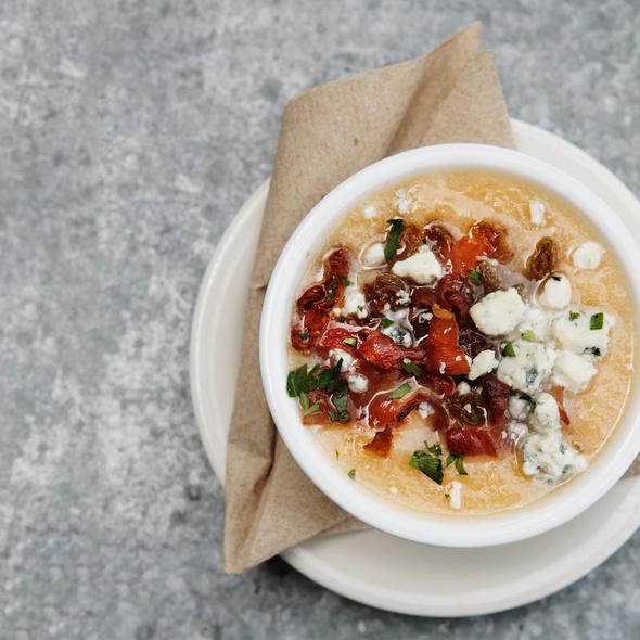 Cantaloupe Soup @ Trattoria Marcella