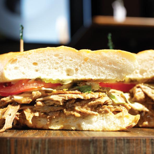 Cochon de Lait Po' Boy @ Riverbend Restaurant and Bar