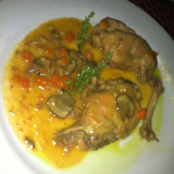 Rabbit 'au Vin' @ East Side Showroom