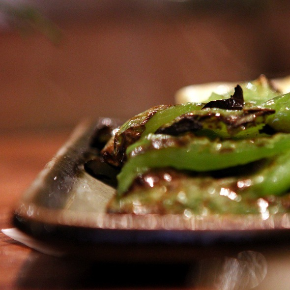 Grilled Green Peppers - Inakaya, New York, NY