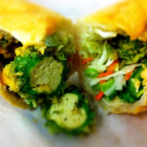 Crispy Tofu Balls @ Starry Kitchen