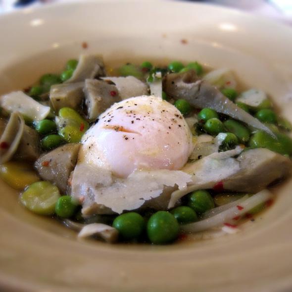 Pea Soup With Mint  @ Cotogna