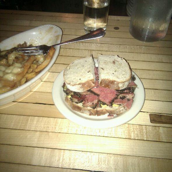 Beef Brisket Sandwich @ Mile End Delicatessen
